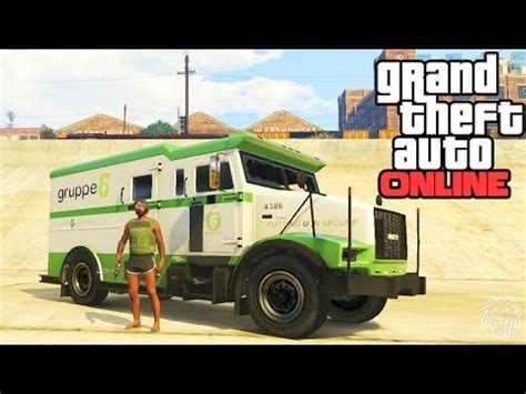 Easy Way To Make Money On Gta 5 Online - gta online how to rob security trucks easy way to make money tutorial guide gta 5