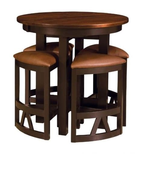 high top table with 6 high top bar table s set entertainment bar pinterest