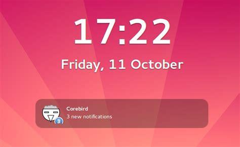 gnome lock screen themes corebird new gtk3 based twitter app in development