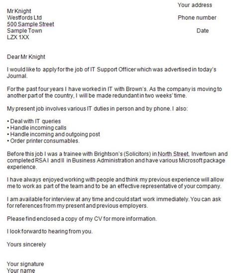 Writing A Covering Letter For A by Writing A Cover Letter Directgov Covering Letter Exle