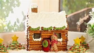 gingerbread log cabin template how to make a gingerbread house log cabin no kit required