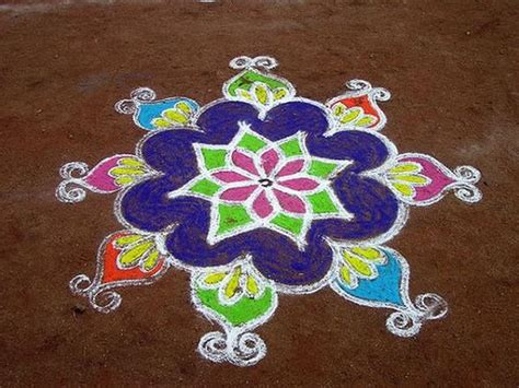 simple rangoli designs easyday