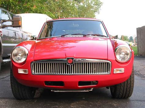 Mgb Valance terry schulte s 1974 mgb gt with ford 5 0l v8 and edelbrock efi