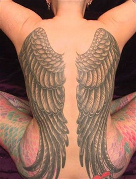 tattoo gallery wings full back angel wing tattoos design idea tattoo