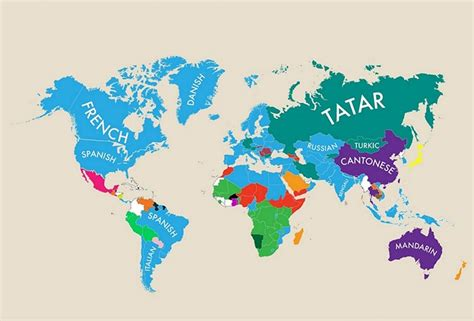 which other countries speak infographic reveals the second most spoken language in the