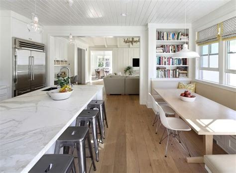 modern kitchen banquette modern farmhouse kitchen by simpson design group architects based in redwood city ca