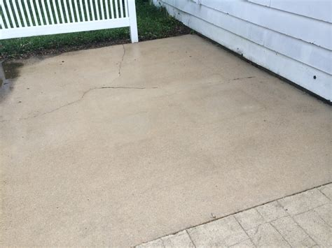 clean concrete patio concrete washing concrete sealing driveway sealing sidewalk washing