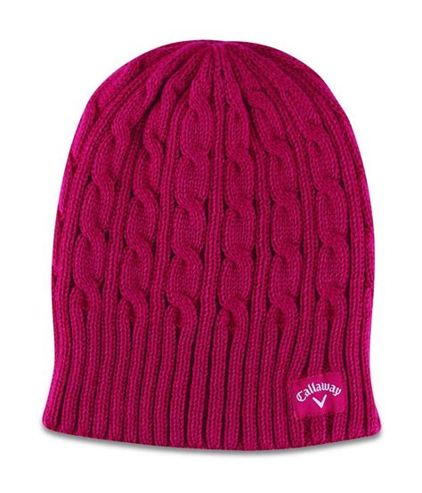 cable knit beanie callaway cable knit beanie golfonline