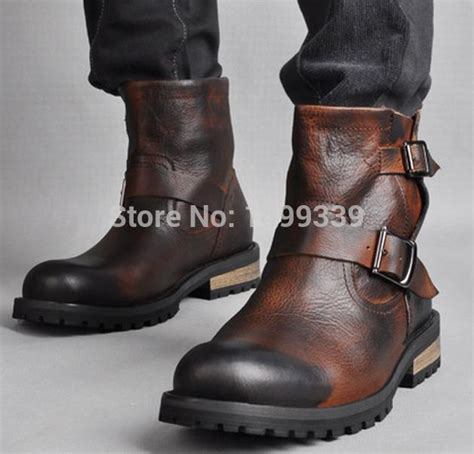 Handmade Leather Shoes Bandung - aliexpress buy new arrival 2015 rick style 511 high