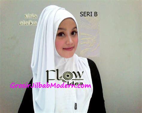 Jilbab Syari Putih jilbab syria alaika putih seri b grosir jilbab modern jilbab cantik jilbab syari jilbab instan