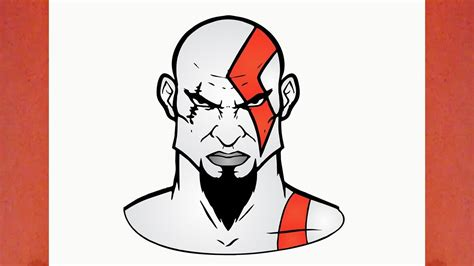 como dibujar a kratos de god of war youtube