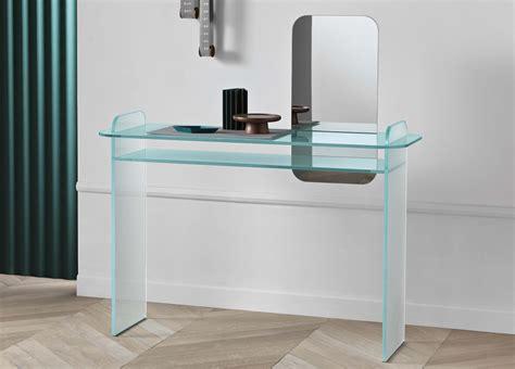Tonelli Opalina Glass Desk Glass Desks Home Office Desks Glass Office Desks Uk