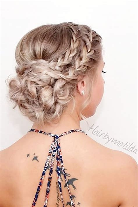 homecoming hairstyle 34 easy homecoming hairstyles for 2018 medium