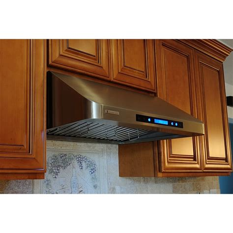 stainless steel under cabinet range hood xtremeair 36 inch under cabinet stainless steel range hood