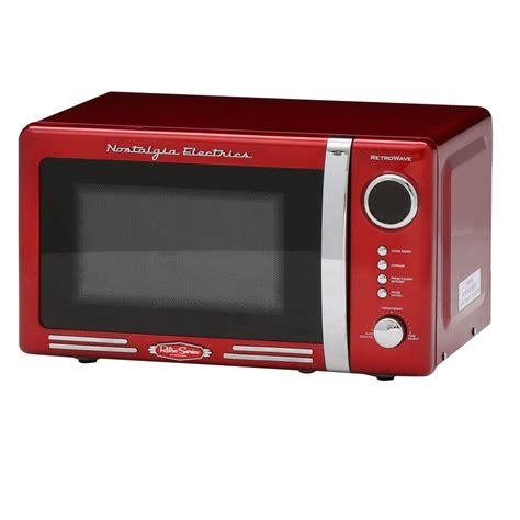 Home Depot Toaster Ovens Nostalgia Retro Series 0 7 Cu Ft Countertop Microwave