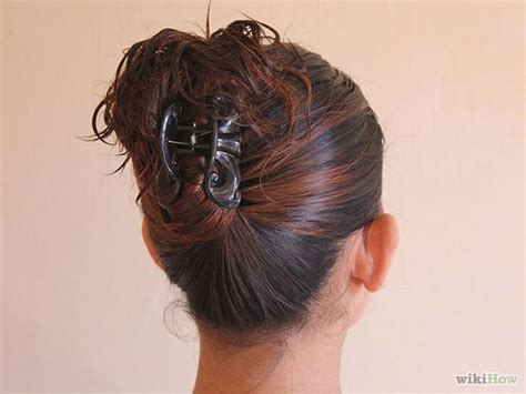 Claw Hair Hairstyles | claw clip updo make me up pinterest updo