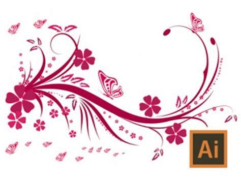 illustrator tutorial floral swirl ornaments butterfly dagubi illustrator swirls and flourishes tutorial