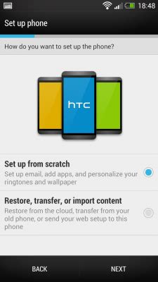 how to set up your htc one   android central