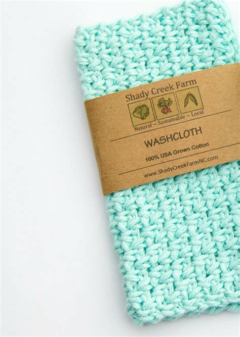 Handmade Wash - washcloth cotton washcloth handmade wash cloth crochet wash
