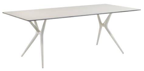table bureau pliante table pliante spoon bureau 200 x 90 cm plateau blanc