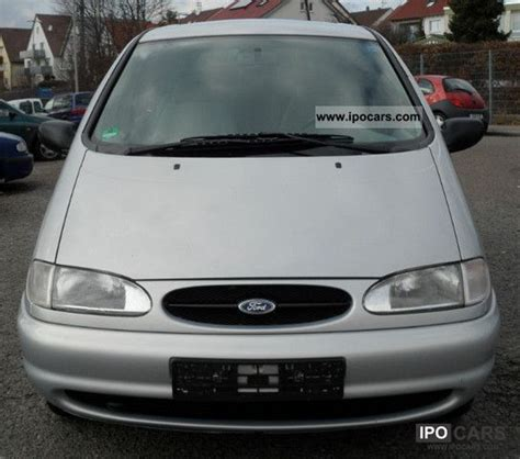 1999 ford galaxy 2 3 7 seater car photo and specs