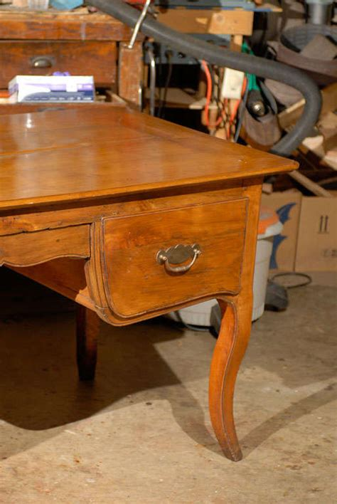 Provincial Desk For Sale by Provincial Fruitwood Desk Ca 1840 For Sale At 1stdibs