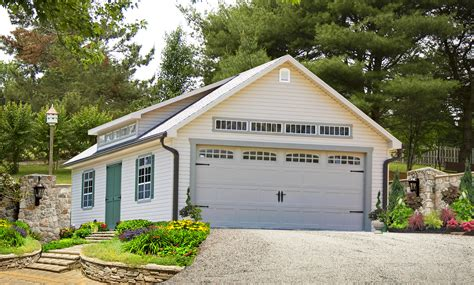 two car garages buy a two car garage building direct from pa