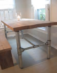 Kitchen Table Base Back To Home Design Industrial Table Base Tutorial