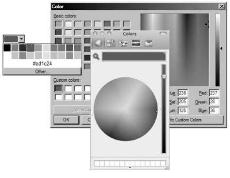 input type color formularios html ejemplos y estilos con css para controles