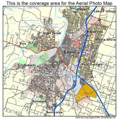 map of salem oregon aerial photography map of salem or oregon