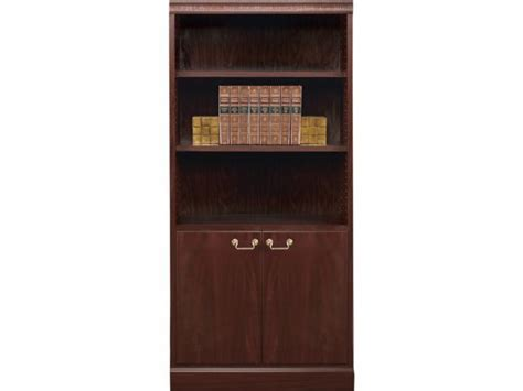 Office Bookcases With Doors Bedford Bookcase With Doors 3 Wx6 H Office Bookcases