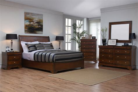 Lifestyle Furniture Bedroom Sets Kingston Walnut Bedroom Set By Lifestyle Solutions