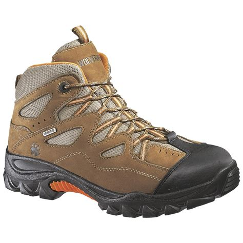 wolverine hiking boots wolverine 174 s 6 quot durant waterproof steel toe eh hikers