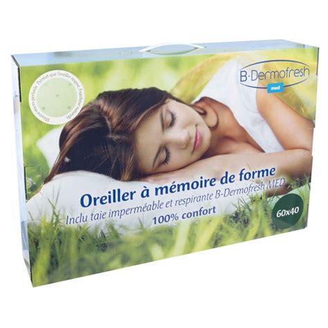 Oreillers Memoire De Forme by Oreiller 224 M 233 Moire De Forme