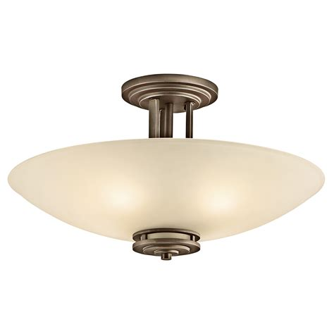 overhead lighting hendrik 4 light semi flush ceiling light oz