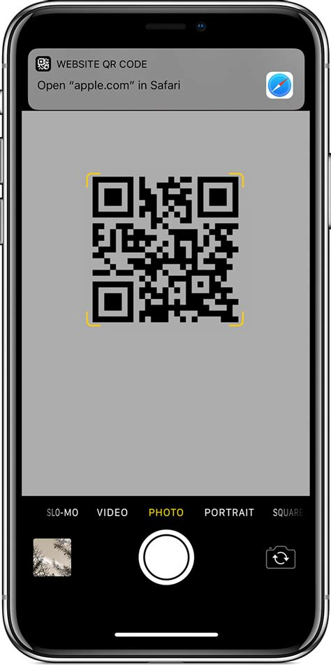 scan a qr code with your iphone or ipod touch apple support