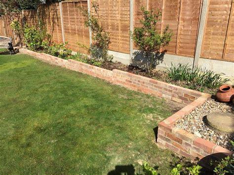 bricks garden pics garden brick border construction tidy gardens
