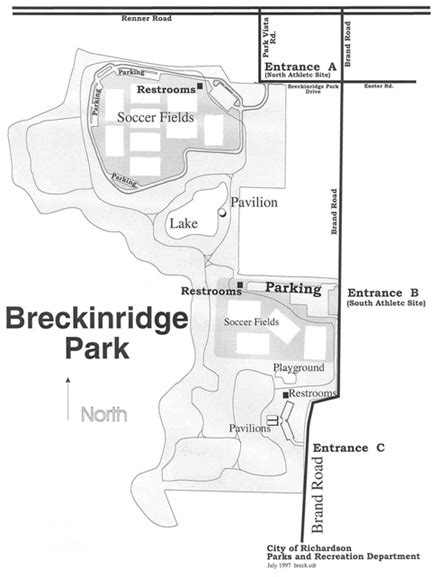 Parks and Playgrounds: Breckinridge Park (Entrance B