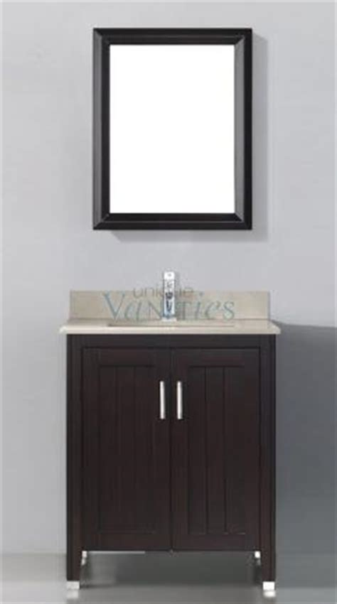 28 inch single sink bathroom vanity with choice of top in