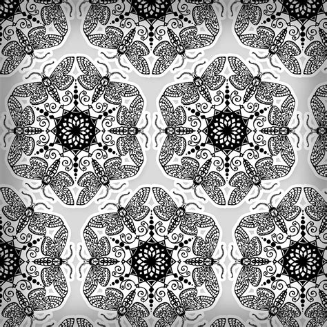 Ornament Pattern Photoshop Patterns Ornament Stencil Template