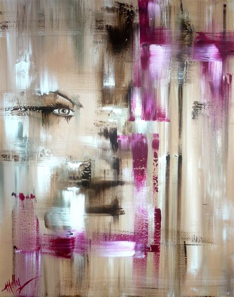 Peinture Acrylique Sèche by Tableau Femme Abstrait Peintures Abstraites Pleines