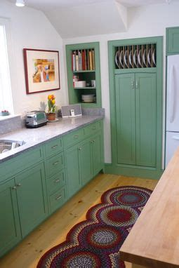 custom  kitchen  colonial green  blue hill cabinet