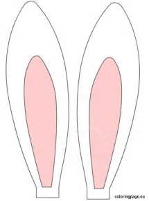 bunny ear template easter bunny ears clipart
