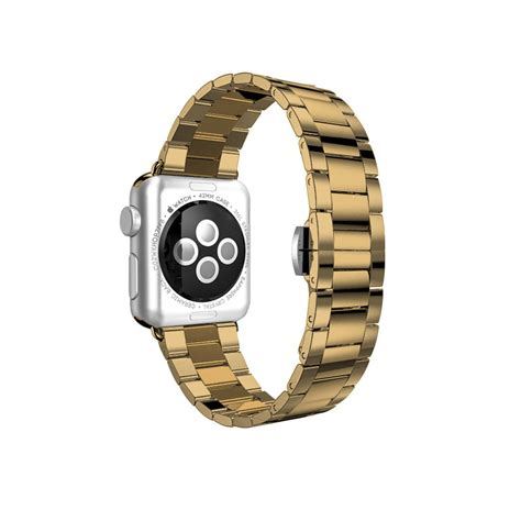 Apple Sport Band Only Yellow 42 Mm yellow gold stainless steel band for apple 38 42 mm ultracase