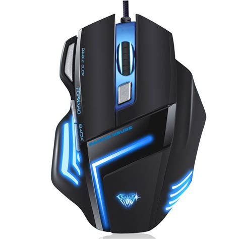 Mouse Shark Usb aula chost shark wired usb 5 gear dpi programming gaming mouse