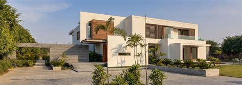 home exterior design delhi modern farmhouse by dada partners in new delhi india