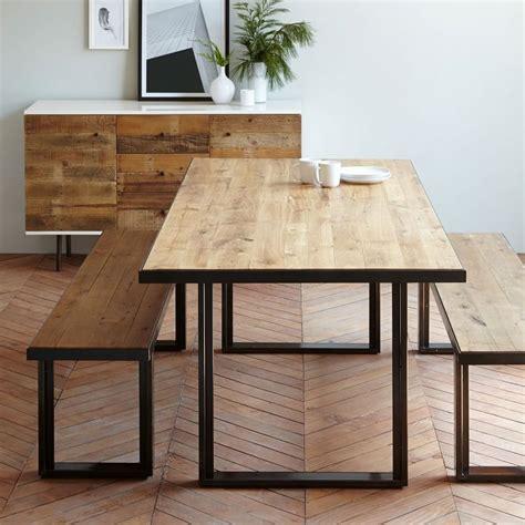 industrial dining table set elm industrial oak steel dining table set decor