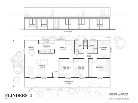 4 bedroom metal home floor plans simple 4 bedroom floor