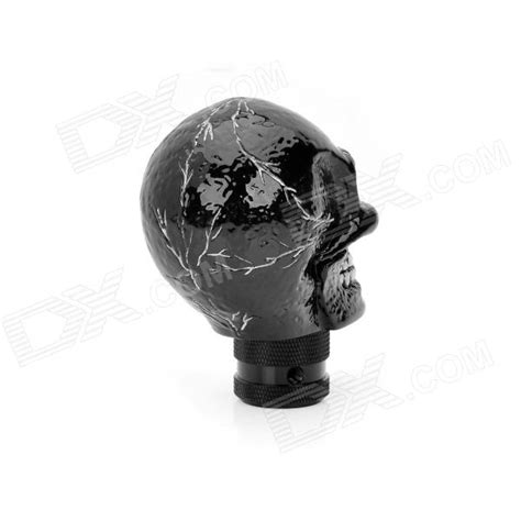 Resin Shift Knob by Cool Skull Style Resin Car Gear Shift Knob Black Free