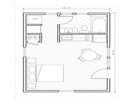 1 Bedroom House Floor Plans 1 Bedroom House Plans 1000 Square 1 Bedroom House Plans 24x24 Small One Room House